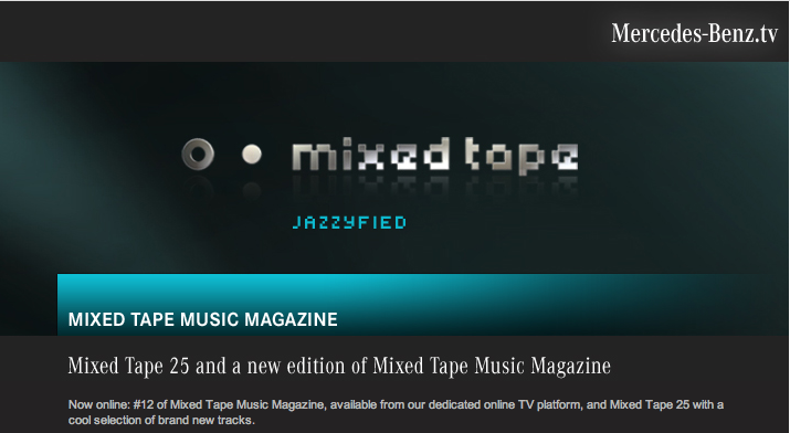 Mercedes-Benz Mixed Tape 25