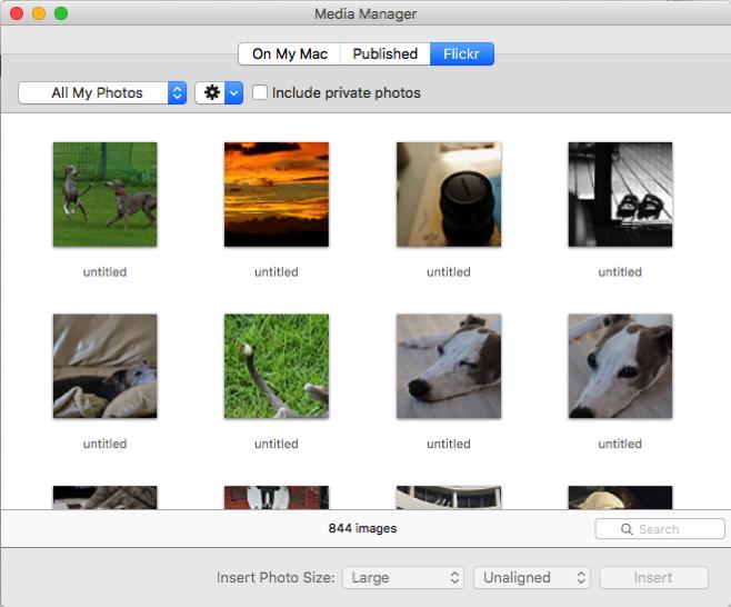 MarsEditでFlickrの写真アップが更に便利に